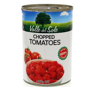 Valle Del Sole Chopped Tomatoes 400g