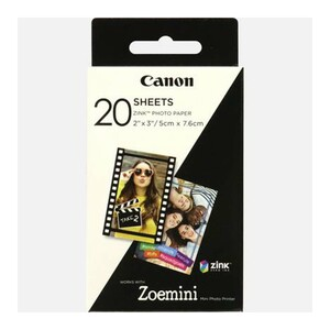 "Canon Zink 2""x3"" Photo Paper 20s ZP-2030"