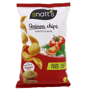Snatt's Quinoa Chips Tomato And Basil 85g