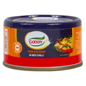 Goody Pink Salmon In Red Chilli 48g
