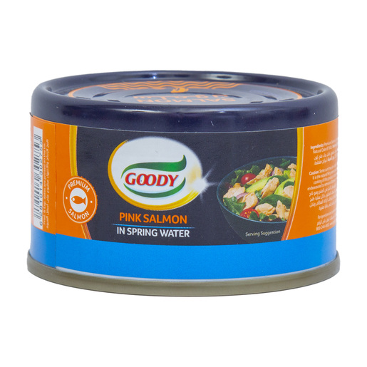 Goody Pink Salmon in Spring Water 95g