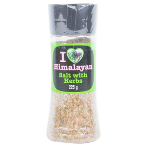 I Love Himalayan Salt With Herbs 225g