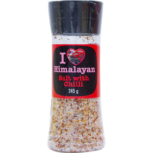Himalayan Salt With Chilli 245g