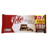 Nestle Kit Kat All About You 5 Finger Double Chocolate Bars 4 x 40g