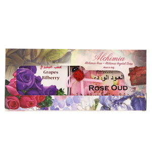 Alchimia Vegetal Soap 200g + Rose 125g Assorted