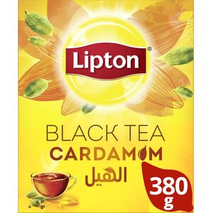 Lipton Flavoured Black Loose Tea Cardamom 380g