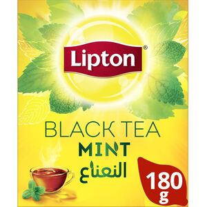 Lipton Flavoured Black Loose Tea Mint 180g