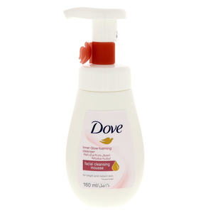 Dove Inner Glow Foaming Cleanser 160ml