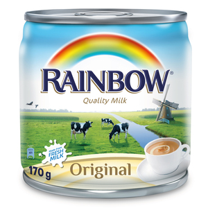 Rainbow Evaporated Milk Original 170g