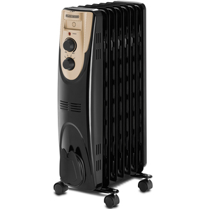 Black+Decker 7 Fin Oil Radiator OR070D 1500W