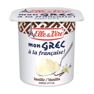 Elle & Vire Greek Fruit Yogurt Vanilla 125g