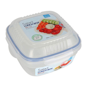 Lock & Lock Salad Container with Divider 8440 950ml