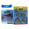 Home Mate Stainless Steel Scourer 4Pcs + Cleaning Set