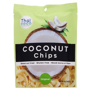 Thai Coco Coconut Chips Original 40g