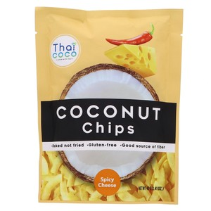 Thai Coco Coconut Chips Spicy Cheese 40g