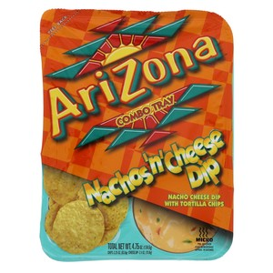 Arizona Combo Tray Nachos'n' Cheese Dip 134.6g