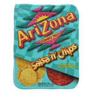 Arizona Combo Tray Salsa'n' Chips 134.6g