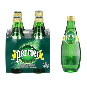 Perrier Natural Sparkling Mineral Water Regular 330ml