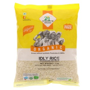 24 Mantra Organic Idly Rice Paraboiled Rice 1kg