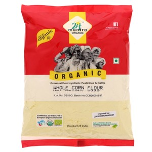 24 Mantra Organic Whole Corn Flour 500g