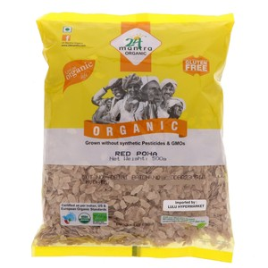 24 Mantra Organic Red Poha 500g