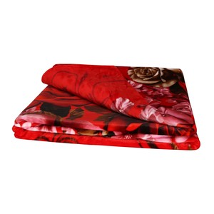 Bravo Blanket Flannel 200X220cm Red