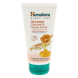 Himalaya Oil Control Oatmeal & Honey Face Scrub 150ml