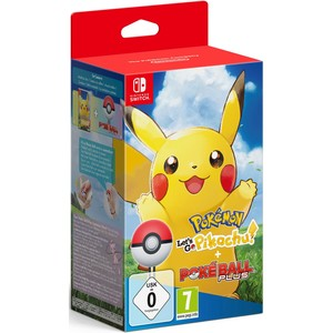 Nintendo Switch Pokémon: Let's Go - Pikachu! - Limited Edition