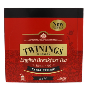 Twinings English Breakfast Tea Extra Strong 100Pcs