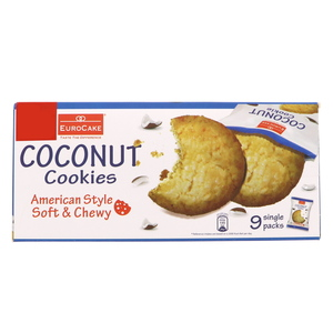 Euro Cake Coconut Cookies 252g