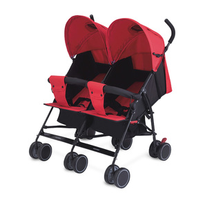 First Step Baby Twin-Stroller Assorted Color