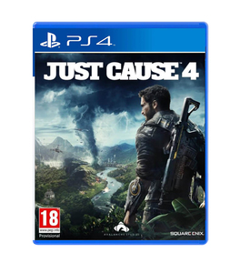 PS4 Just Cause 4 Day 1 Edition SteelBook with DLC