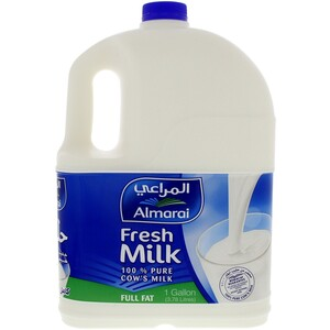 Almarai Fresh Milk Full Fat 1 Gallon