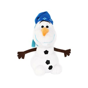 Disney Plush Olafs Frozen Adventure Knit Hat White 10