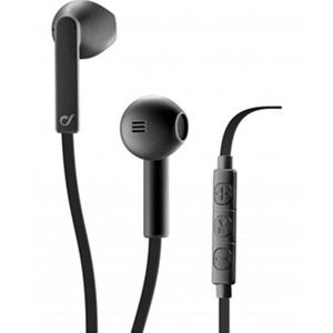 Cellularline Loud Stereo Wired Earphones Black