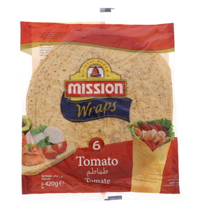 Mission Tomato Tortilla Wrap 420g