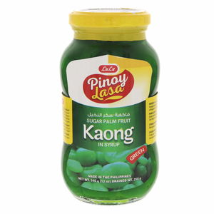 Lulu Pinoy Lasa Sugar Palm Fruit Green In Syrup 340g