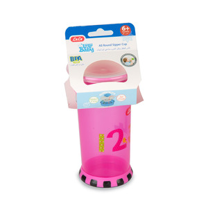 Lulu Baby All Round Sipper Cup Assorted Color 1pc