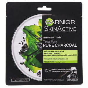 Garnier Skin Active Pure Charcoal Tissue Mask 28g