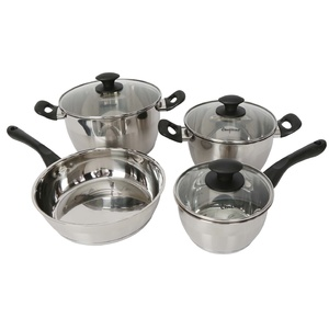 Chefline Stainless Steel Cookware Set 7pcs CH7