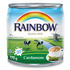 Rainbow Cardamom Evaporated Milk 170g
