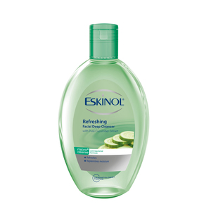 Eskinol Refreshing Facial Deep Cleanser with Pure Cucumber Extracts 225ml