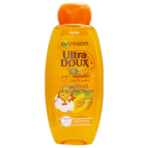 Garnier Ultre Doux Kids Shampoo With Apricot And Cotton Flower 400ml