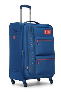 Skybags Vanguard 4 Wheel Soft Trolley 82cm Blue