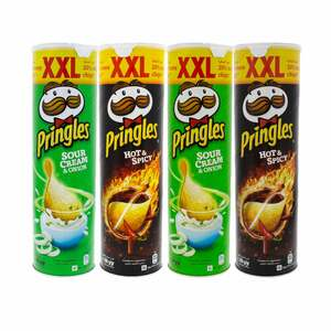 Pringles Chips Assorted 4 x 200g