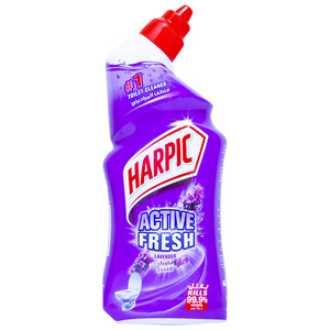 Harpic Toilet Cleaner Active Fresh Lavender 500ml