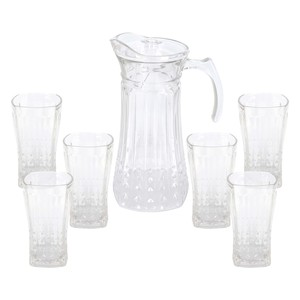 Home Glass Water Set GB39GT 7pcs
