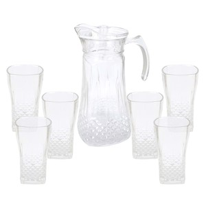 Home Glass Water Set GB39XYD 7pcs