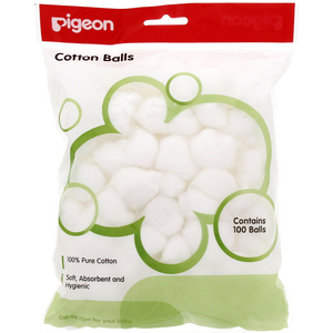 Pigeon Cotton Balls 100 Balls