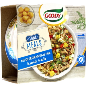 Goody Tuna Meals Mediterranean Mix 153g